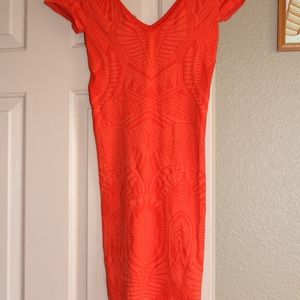 Nwot Super sexy Bebe tight mini dress size P/Small